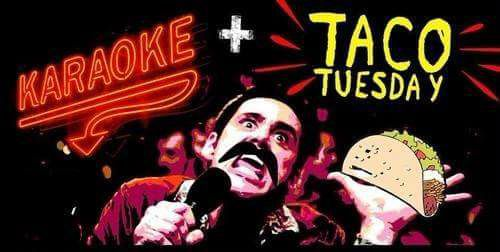 Taco Tuesday Karaoke at The Logon Cafe and Pub