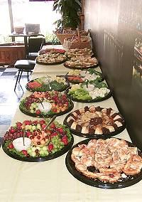 Catering at The Logon Cafe and Pub