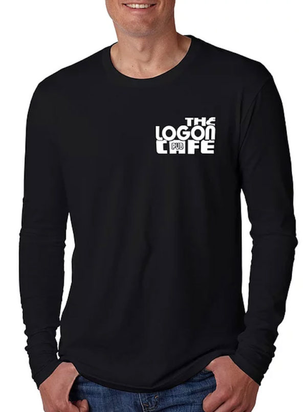 Logon-Cafe-T-Shirt-Pool-Hall-LS-Mens