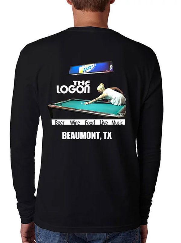 Logon-Cafe-T-Shirt-Pool-Hall-LS-Mens-Back