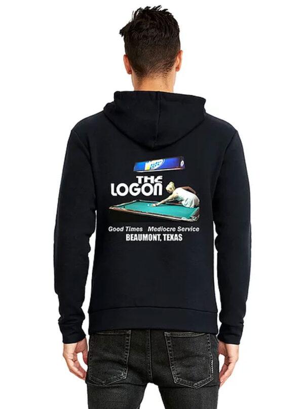 Logon-Cafe-T-Shirt-Pool-Hall-LS-Mens-Hoodie-Back