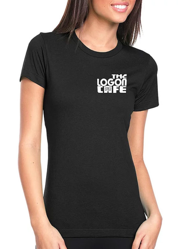 Logon-Cafe-T-Shirt-Pool-Hall-Womens